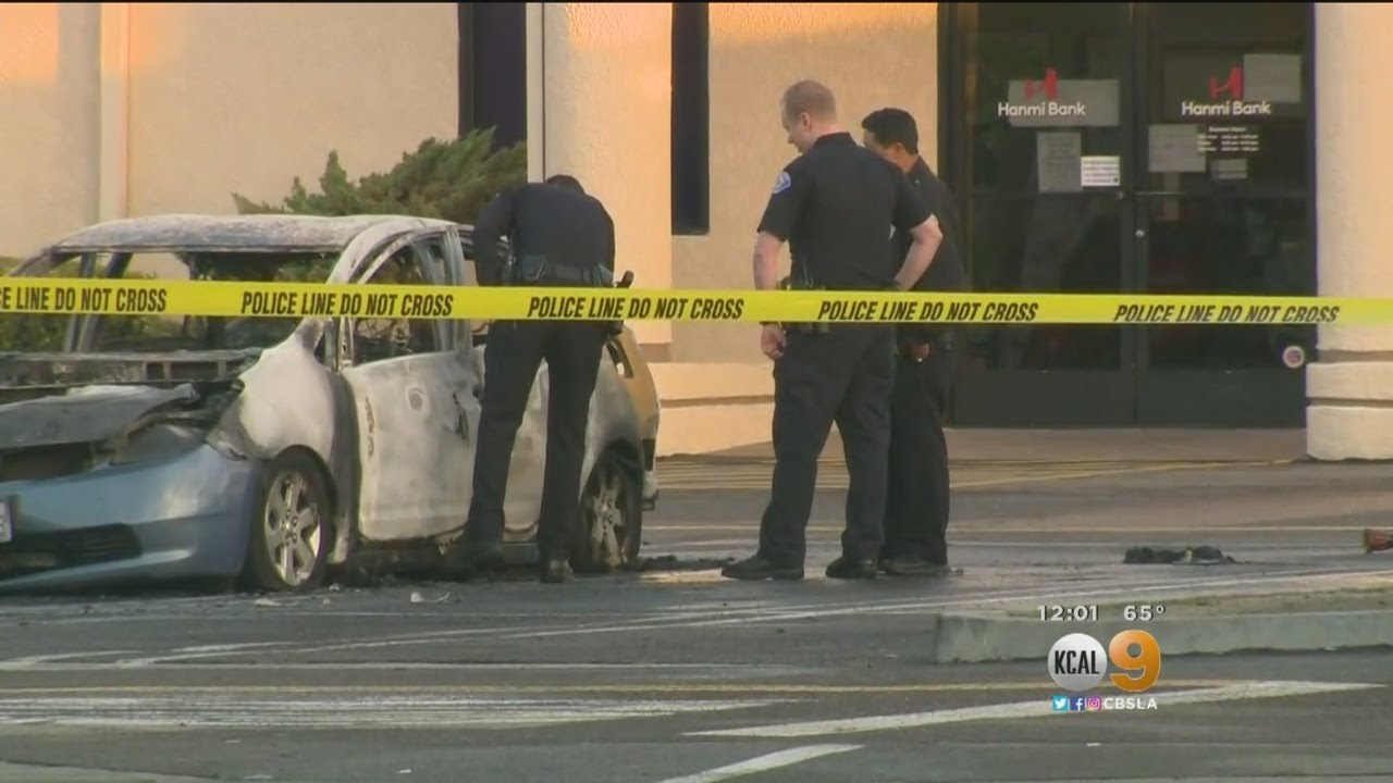 Garden Grove Neighbors Shocked By Discovery Of Body Burning In Car