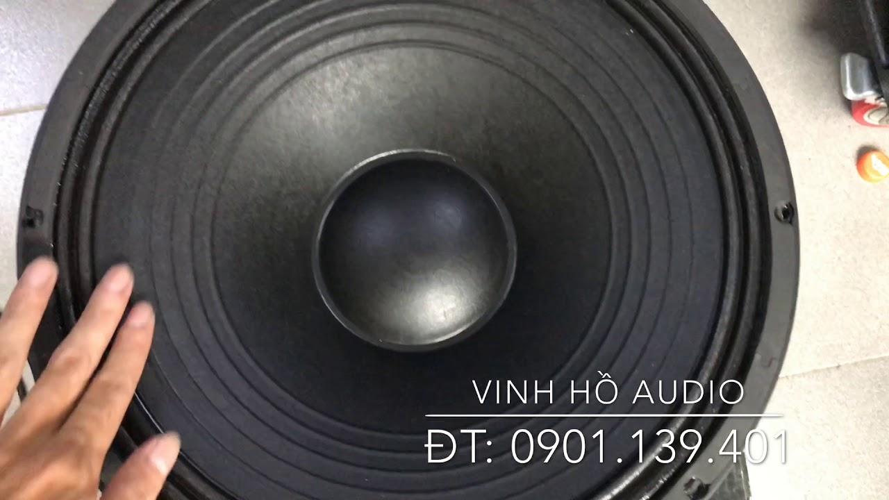 Đập hộp Bass PA Thailand, GM15-88F hàng chính hãng Thái Lan. Giá bán: 5tr3/cặp | Sài Gòn