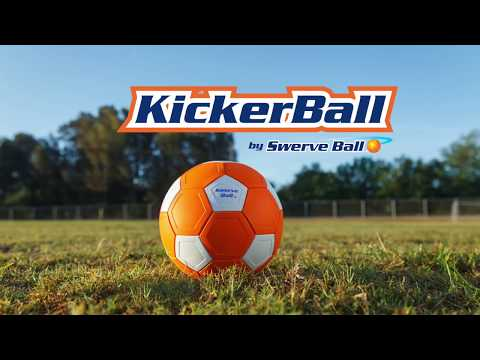 KickerBall - The Only Ball that Let's You Kick Like the Pros!
