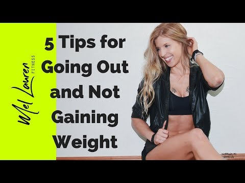 5 Awesome Tips for going out and not gaining weight