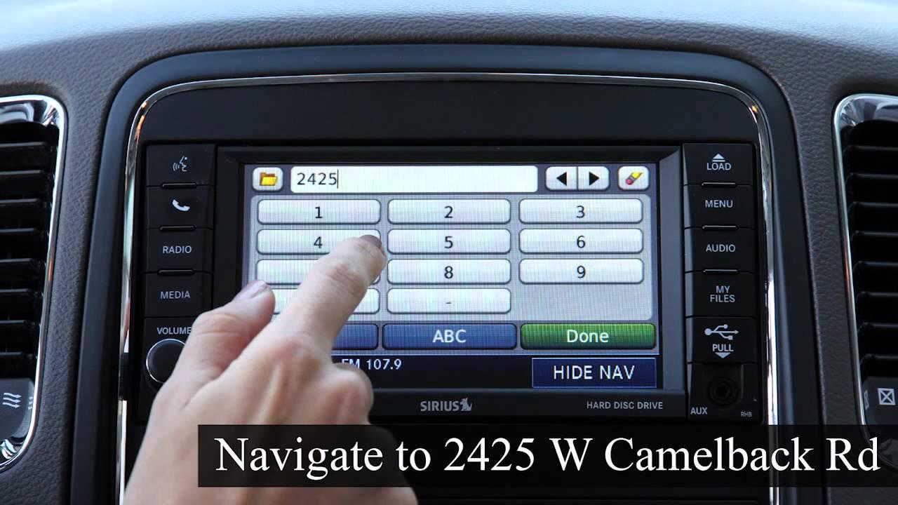 use the Garmin GPS in 2011 Chrysler Jeep Dodge & Ram Vehicles ...