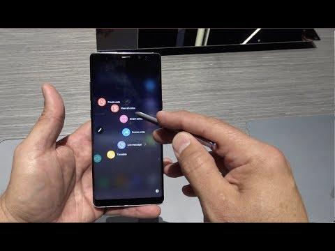 Samsung Galaxy Note 8 en vivo