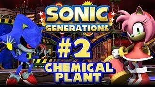 Sonic Generations PC - (1080p) Part 2 - Chemical Plant Zone