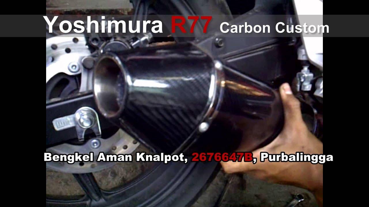 Knalpot Cbr150 Lokal Yoshimura R77 Carbon Custom Youtube R9 Full System New Mugello Klx 150 All Type