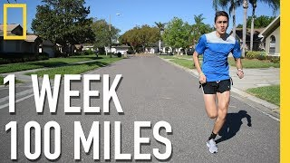Running 100 Miles in 1 Week Challenge | Documentary Special (Motivation)