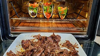 June Oven Slow Cooker Fall off the Fork Chuck Roast Soft Tacos CookingwithDoug Style