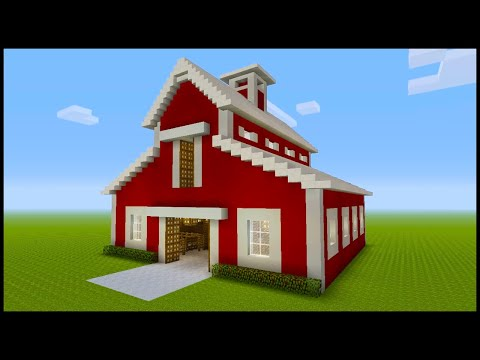 minecraft:-how-to-build-horse-stables!