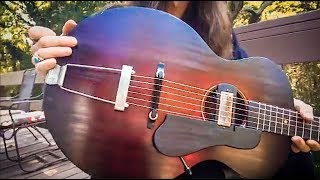Gambar cover WIDE SKY GUITARS | Acoustic/Electric PL1 Model | LIVE UNBOXING