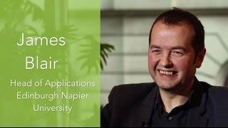 MEDIAL | Video Testimonial | James Blair   Napier University Edinburgh
