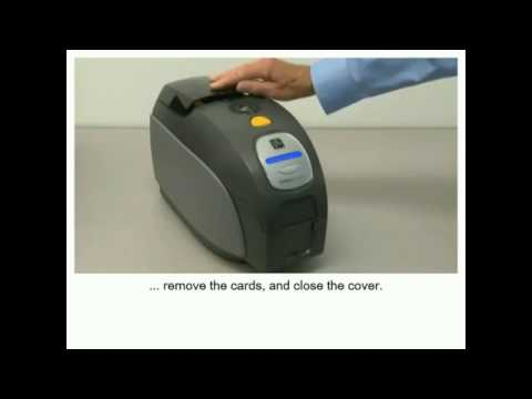 How to clean the Zebra ZXP Series 3 ID Badge Printer for schools and professional events