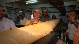 Biggest Dosa at Hotel Annapurna, Coimbatore, India