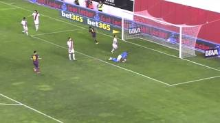 Rayo Vallecano - Barcelona Highlights HD 21.09.2013