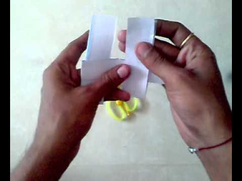 How To Make A Paper Propeller Fan For Kids Video Tutorial