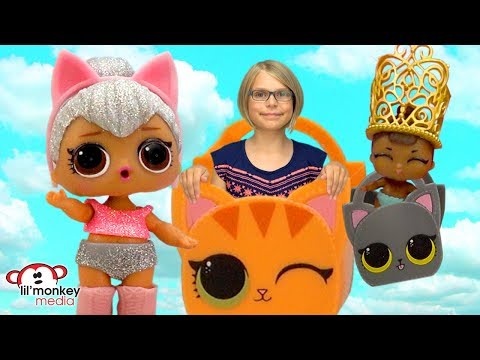 😂  LOL Surprise Dolls! Lil Sisters SERIES 2 - Tinkle, Spit, Cry or Color Change Baby Dolls!  😂