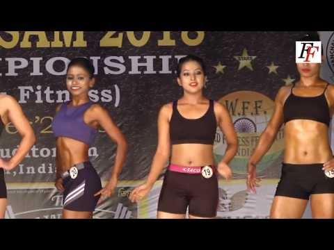 NABBA WFF Mr.  & Ms.  Assam 2018  Women's Fitness ( Senior )