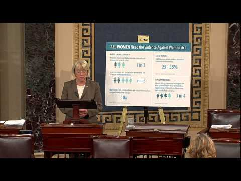 Senator Murray Continues Push for Bipartisan Violence Against Women Act