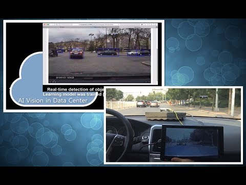 AI Vision demo: Enable deep learning capability from data center to car