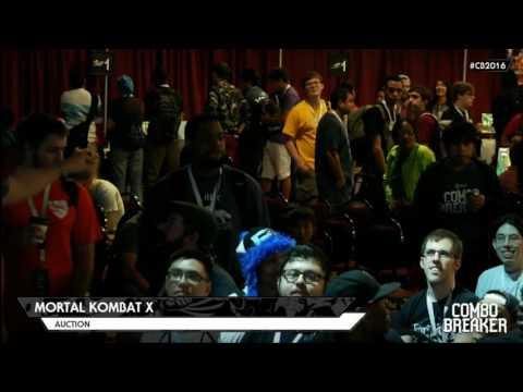 MKXL: Combo Breaker 2016 - Character Auction Tournament