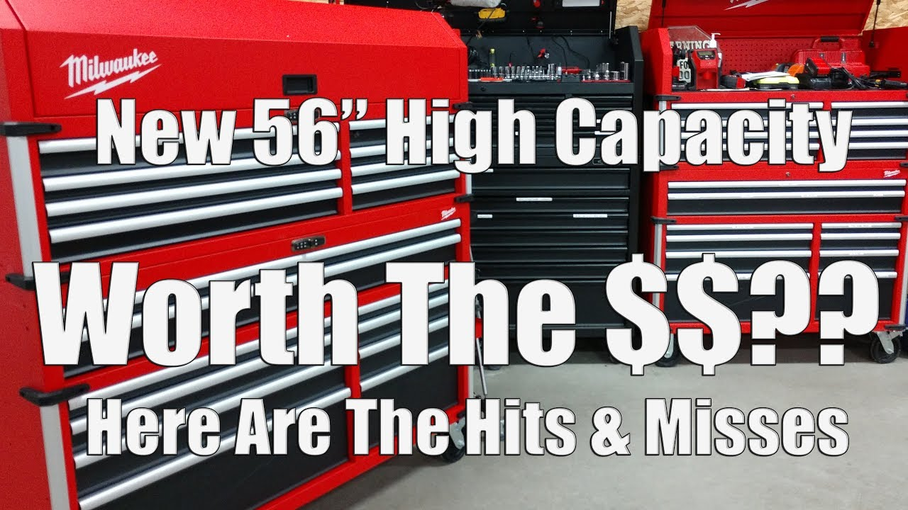 Hits & Misses on the Milwaukee High Capacity 56