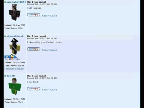 ROBLOX : Forum : Funny Posts Winner 3