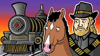 Red Dead Redemption 2: TRAIN BOUNTY GONE WRONG!!