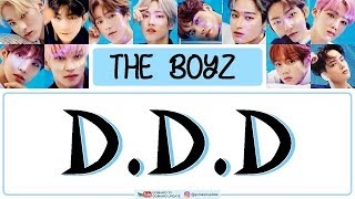 THE BOYZ - D.D.D (Easy Lyrics + Indo Sub) by GOMAWO