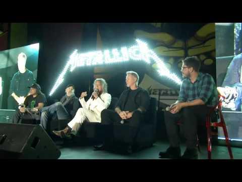 Metallica Interview Mexico City 2016.