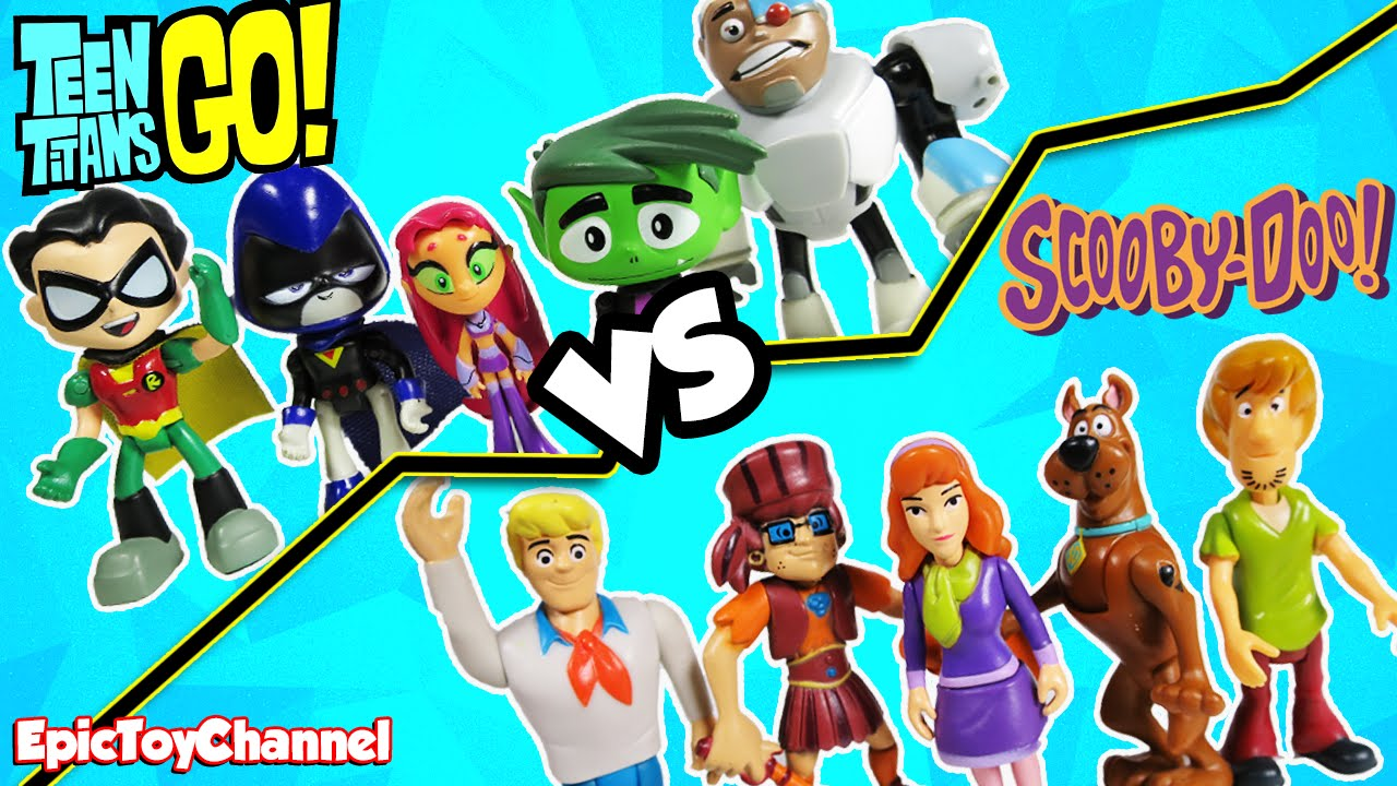 Teen Titans Go Vs Scooby Doo Haunted Mansion Dance Party