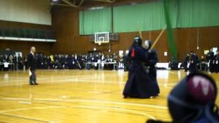 第51回都下大学剣道大会、飯塚VS東外大北川