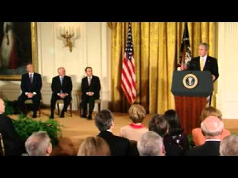 Presidential Medal of Freedom 2009 Ceremony - Presented by President George W. Bush