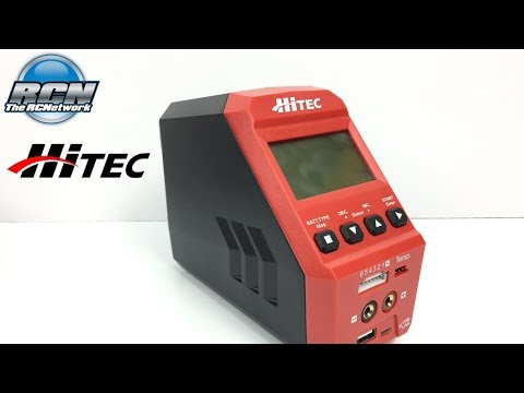 Hitec RDX1 Multi Charger - Unboxing and First Use!