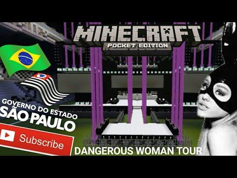 Ariana Grande - Dangerous Woman Tour (São Paulo, Brasil) (Minecraft)