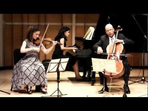 Chroma Piano Trio - Arensky Trio Op. 32, D Minor: III Elegia