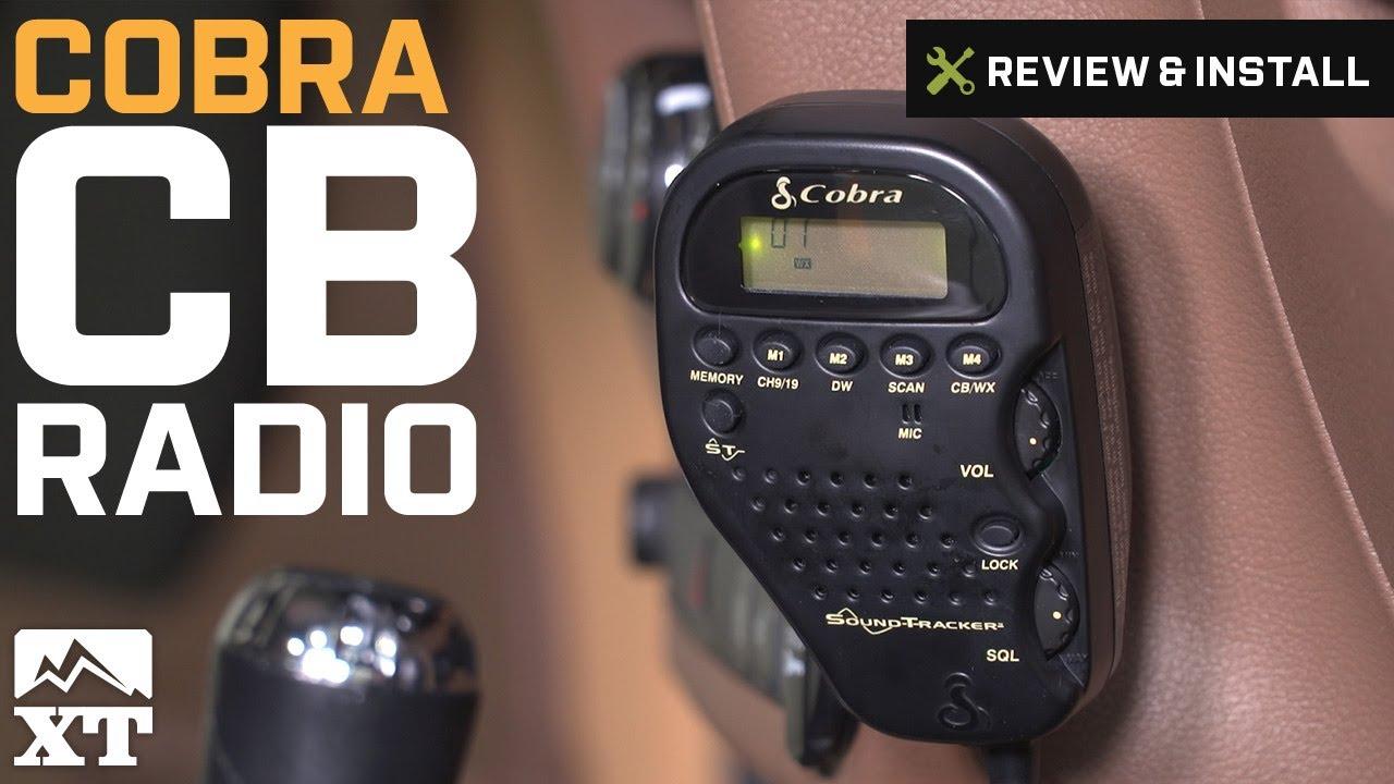 medium resolution of cobra jeep wrangler cb radio 75wxst 87 19 jeep wrangler yj tj jk jl
