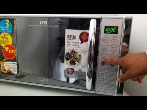 How to use ifb microwave 30sc4 full demo
