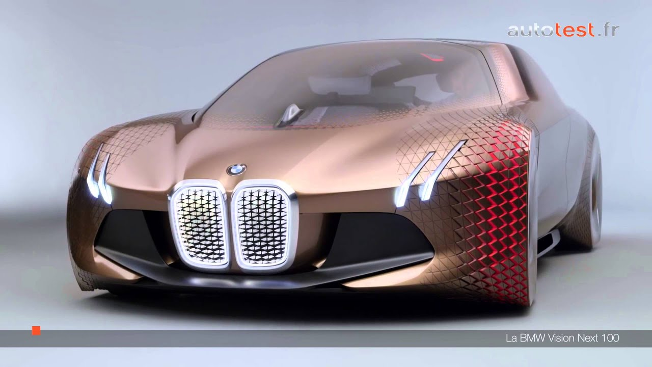 bmw vision next 100 2016 d cryptage de la voiture du futur youtube. Black Bedroom Furniture Sets. Home Design Ideas