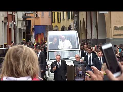 Papa Francesco a Cesena - domenica 1 ottobre 2017