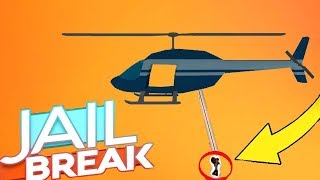 HOW TO GET OFF A HELICOPTER ROPE ON COMPUTER (Roblox Jailbreak)