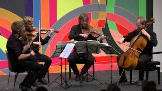 Da Camera presents Danish String Quartet; February 10, 2015, The Menil Collection