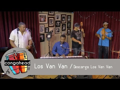 Los Van Van perform Descarga Los Van Van