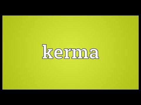 Kerma Meaning