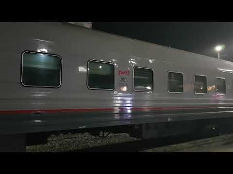 Новосибирск, поезд Москва Владивосток