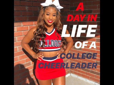 a day in life of a fresno state college cheerleader