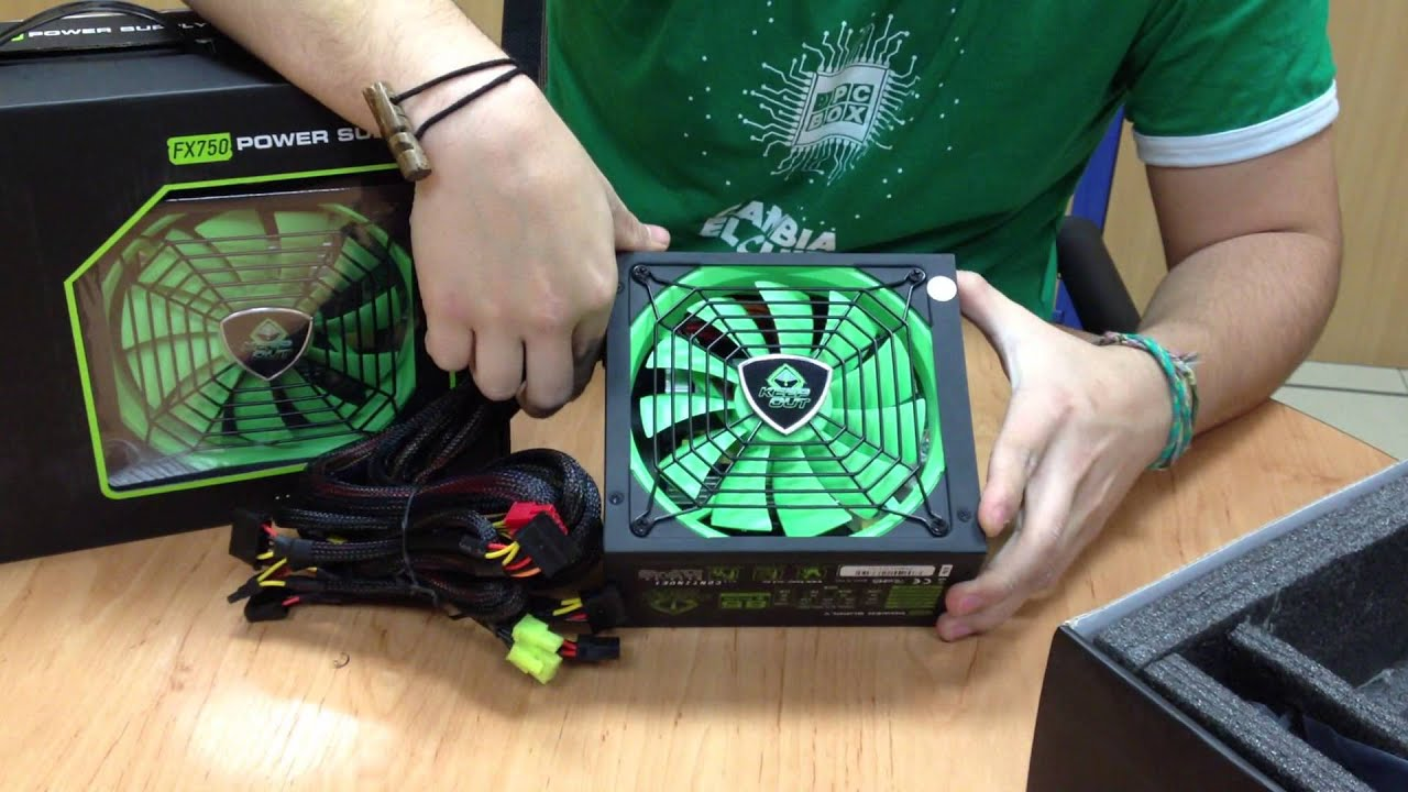 Unboxing Fuente Alimentaci 243 N Keep Out Fx850 Fx750 Pcbox