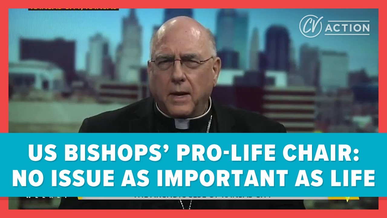 US Bishops' Pro-Life Chair: No Issue As Important as Life