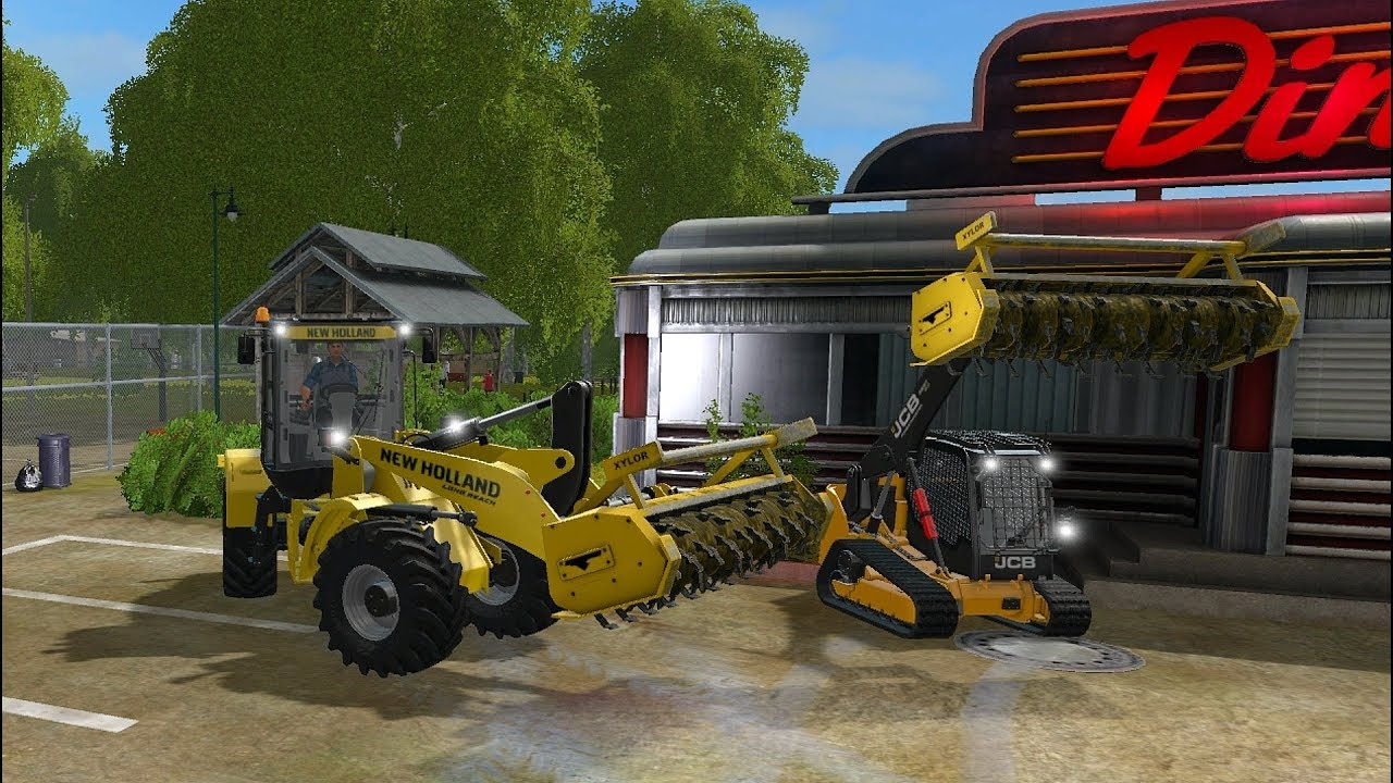 Farming Simulator 17 Mods - Stump Grinder Rabaud for PC/MAC, PS4, XB1