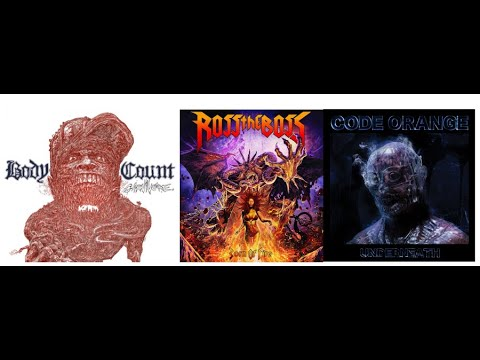 Top 12 Metal/Rock Album for March 2020 by RockAndMetalNewz