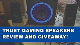 Trust GXT 628 2.1 Speakers Review and Giveaway!