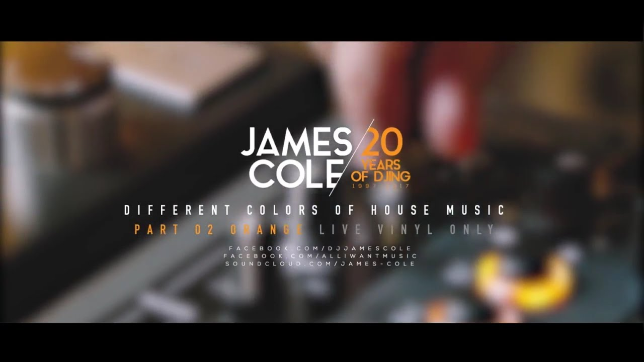 Egy kis jazz 156 - James Cole Vinyl Only Live 20years Of Djing Part 002 Orange