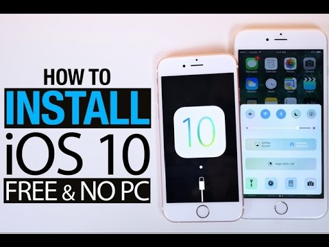 How To Get IOS 10 On IPhone 4 4s 100% Working Method